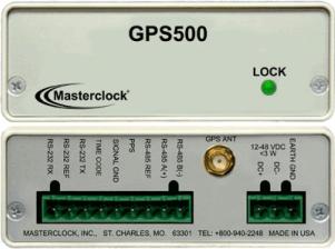 GPS500 GPS Генератор кодов времени GPS